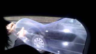 Capote et voiture