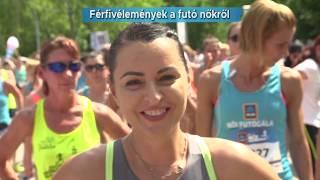 24. ALDI Női Futógála - Mit gondolnak a férfiak arról, ha egy nő fut?