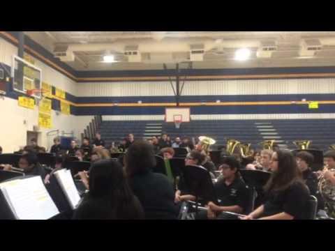 McMath middle school fall concert beginner & cub 2