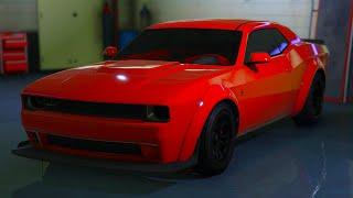BUYING & CUSTOMIZING THE NEW GAUNTLET HELLFIRE!!!!!!!! (GTA 5 ONLINE)