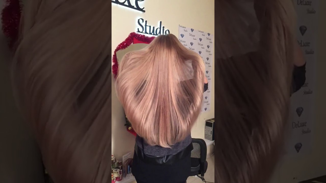Ультразвуковое наращивание волос челябинск - YouTube