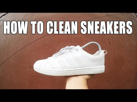 HOW TO CLEAN SNEAKERS WITH CLYDE PREMIUM SHOE CLEANER
