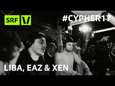 LIBA, EAZ & XEN am Virus Bounce Cypher Cypher17