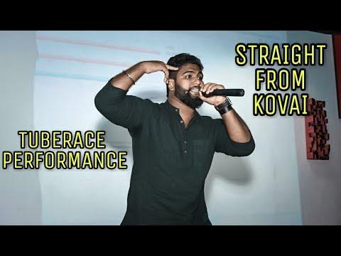 S.W.A.G SAMRAT'S special rap performance @ Coimbatore for Tuberace album fest