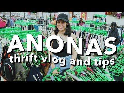 THRIFT WITH ME: ANONAS LRT UKAY-UKAY (Philippines)