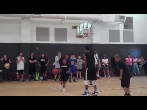 staff vs 8th grade game @ MIT RCSD