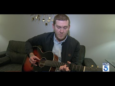 Brian Fallon gives KTLA an acoustic performance
