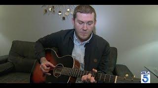 Brian Fallon gives KTLA an acoustic performance