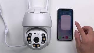 IP PTZ Kamera Outdoor HD WiFi Überwachungskamera