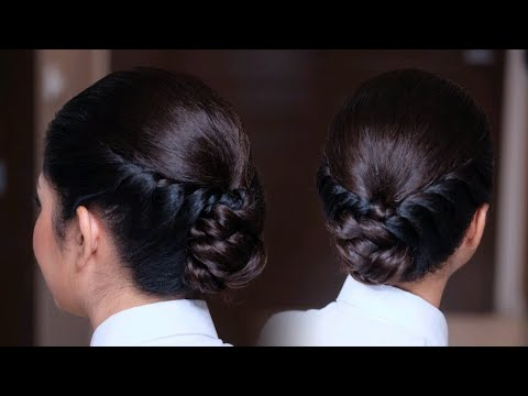TWIST BRAID Hairstyle HAIRUPDO ทรงผมรับปริญญา สอนทำผม ทรงผมง่ายๆ เกล้าผม เก็บผม
