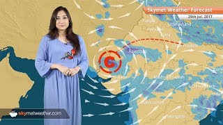 Weather Forecast for July 29: Rain in Delhi, Gujarat, Rajasthan, Chennai