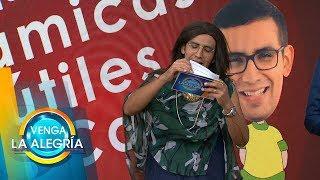 ¡TRIBUTO a Laura Zapata hecho por El Capi! | Venga La Alegría