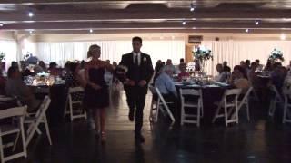 Trenton & Shelby Wedding Entrance