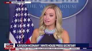 MEDIA FACT CHECKED: Kayleigh McEnany BLASTS Reporters For Negative Questioning To President Trump