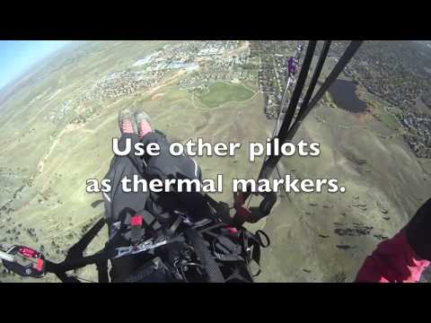 Post flood group thermal flying at North Boulder