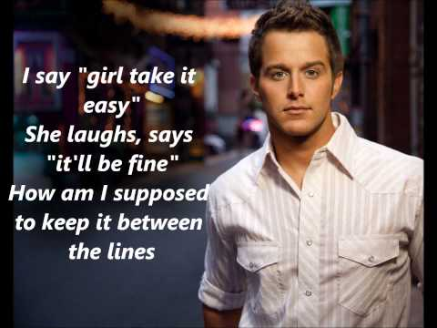 Easton Corbin All Over The Road With Lyrics