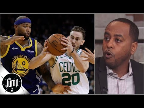 Breaking down Boogie Cousins' defense: Is it a problem for Warriors? | The Jump
