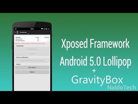How To Install Xposed And Gravitybox On 5 1 Or 5 1 1 Lollipop