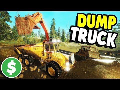 EPIC UPDATE, GOLD MINE DUMP TRUCK UNLOCKED | Gold Rush: The Game Gameplay