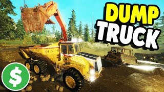 EPIC UPDATE, GOLD MINE DUMP TRUCK UNLOCKED | Gold Rush: The Game Gameplay