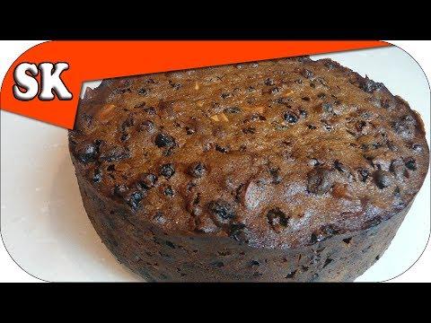 Christmas Cake Recipe Rich Fruit Cake For The Holidays Youtube