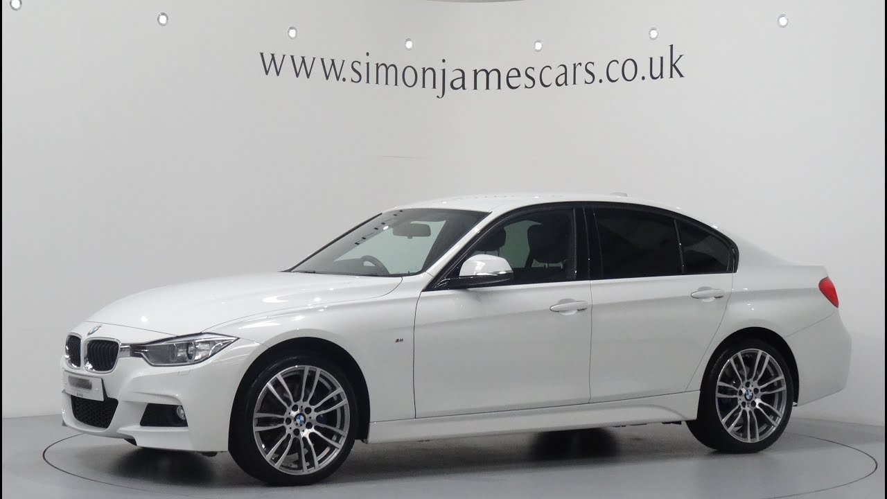 bmw 320d m sport xdrive automatic youtube. Black Bedroom Furniture Sets. Home Design Ideas