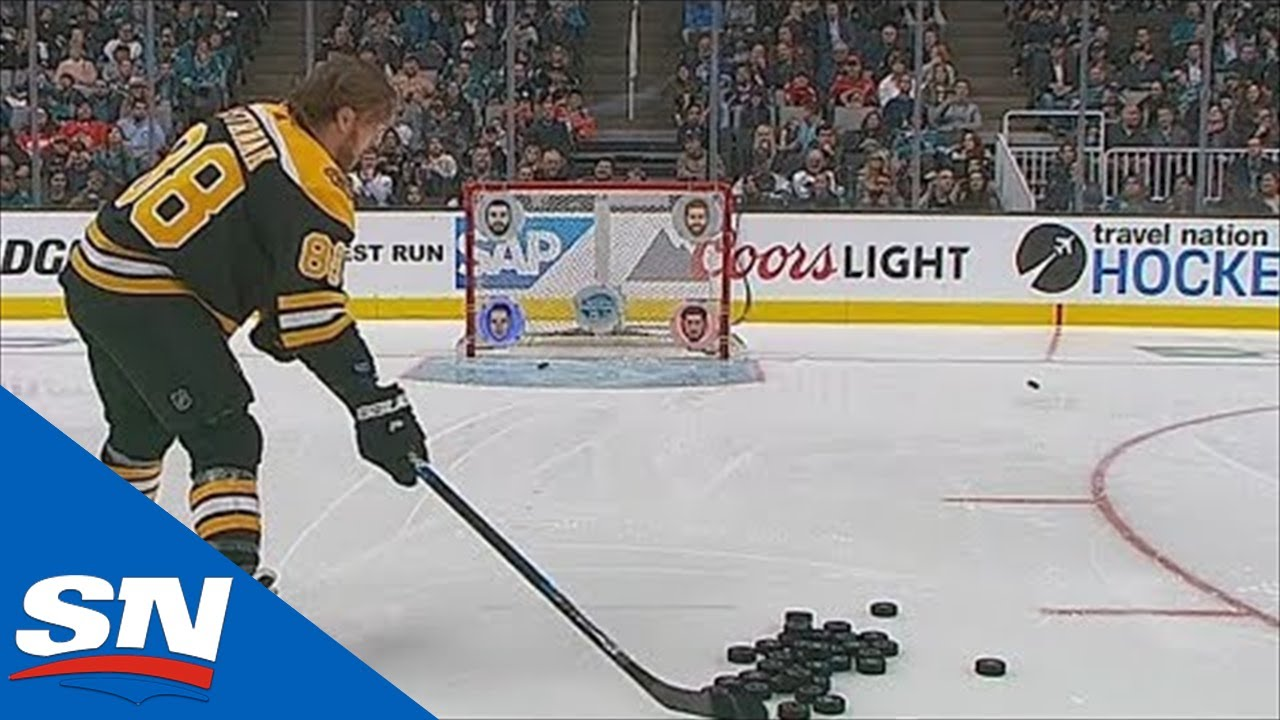 2019 NHL All-Star Skills Competition: Accuracy Shooting