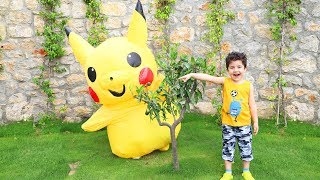 Yusuf and Pikachu Hide and Seek