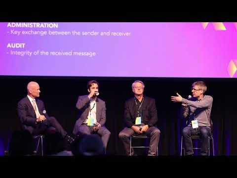 Cryptography and Security Panel at Intertrust – LINE Security Summit
