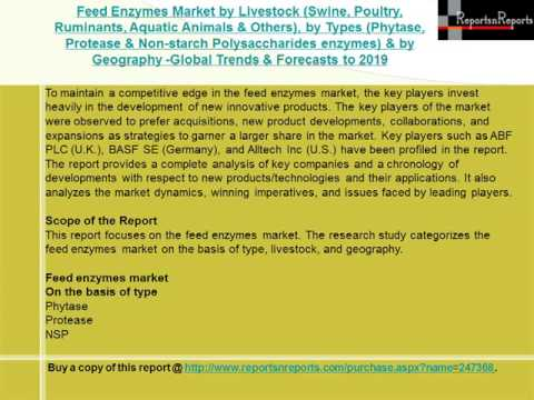 Feed Enzymes Market Global Trends & Forecasts to 2019