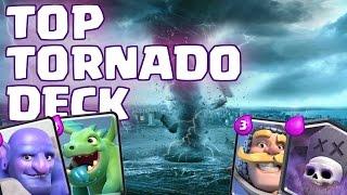 tornado is mvp   bowler graveyard   best clash royale deck gameplay strategy   swirl gamer
