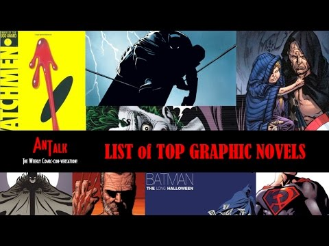 AnTalk's List of Top Graphic Novels