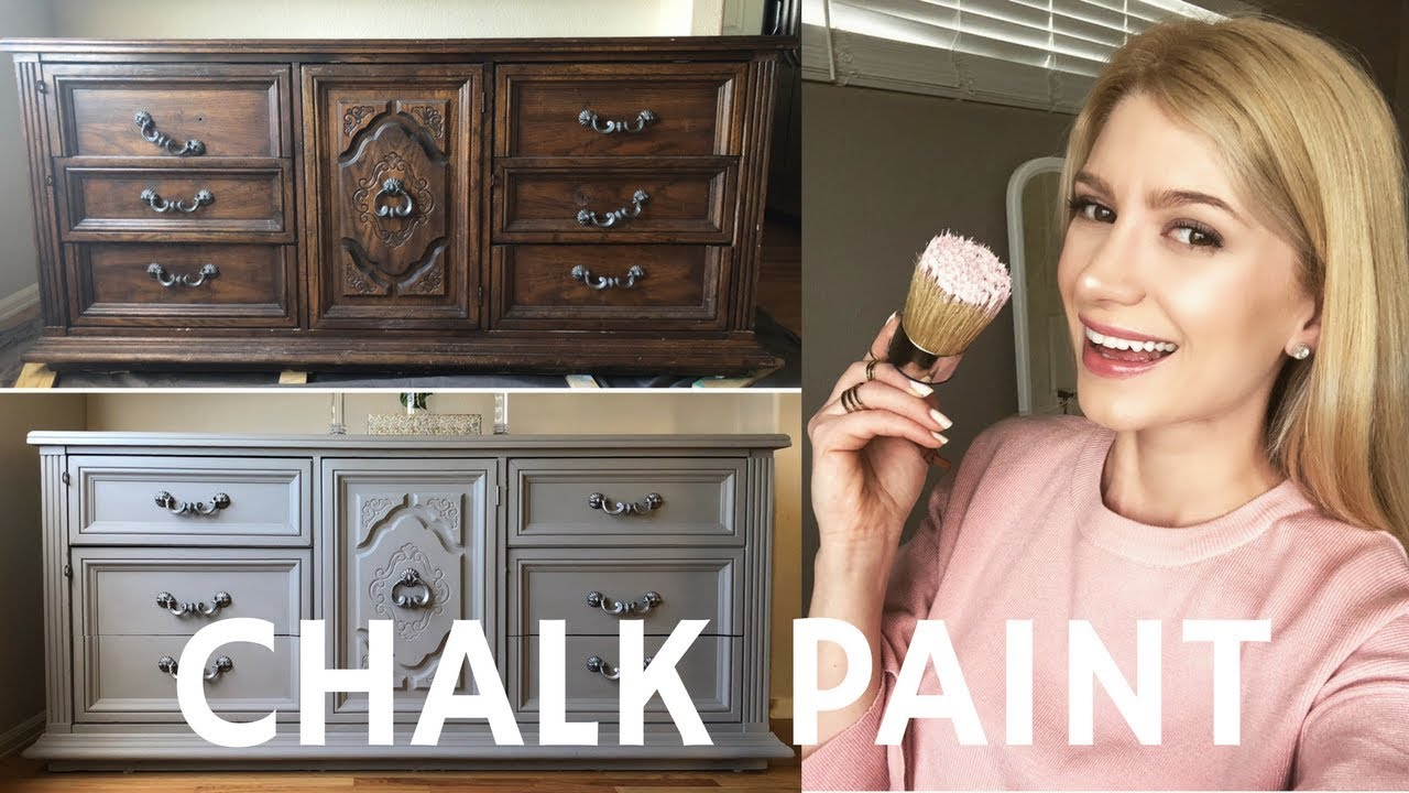 Dresser Makeover With Annie Sloan Chalk Paint French Linen