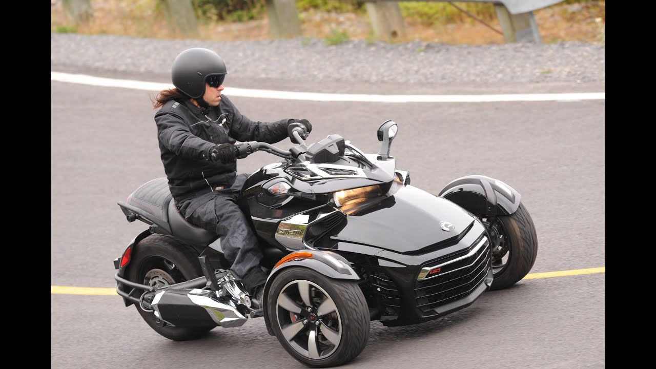 prueba can am spyder f3 2015 espa ol youtube. Black Bedroom Furniture Sets. Home Design Ideas