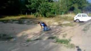 Backflip Attempt by Kuba Jamaj '05