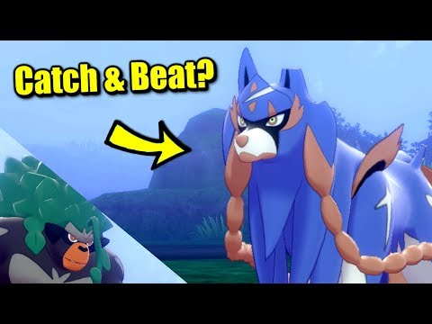 Can You Beat or Catch the Legendary at the Beginning of Pokémon Sword & Shield?