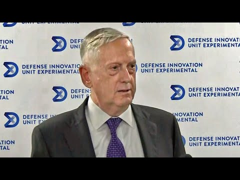 Secretary of Defense Mattis Addresses North Korea Threat in Visit to Mountain View