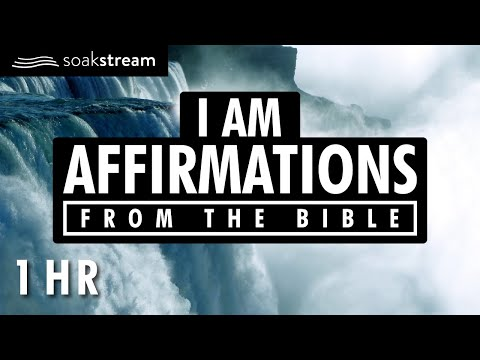 I AM Affirmations From The Bible | Renew Your Mind | Identity In Christ