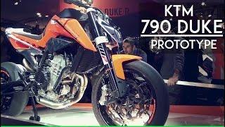 KTM 790 Duke Prototype | Made in India? | EICMA 2016 (4K) | RWR