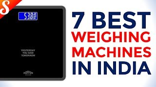 7 Best Weighing Machines in India with Price