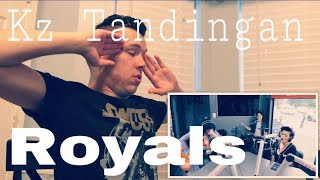 KZ Tandingan - Royals (Cover) | REACTION