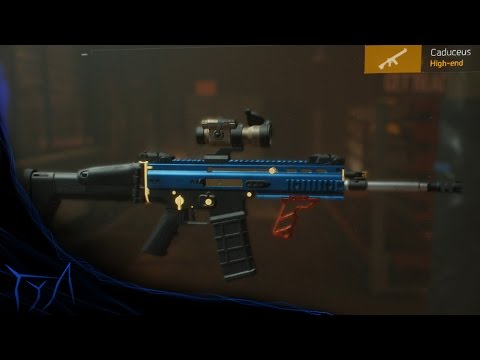 the division how to get exotic caches