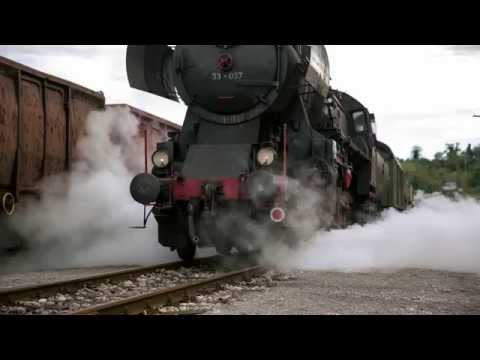 Słowenia -  zabytkowy pociąg na trasie  Jesenice - Bled - Bohinj - Nova Gorica