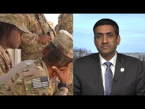 "Rep. Ro Khanna: U.S. Troops Are a ""Sitting Target"" in Syria; It's Time to Bring Them Home"