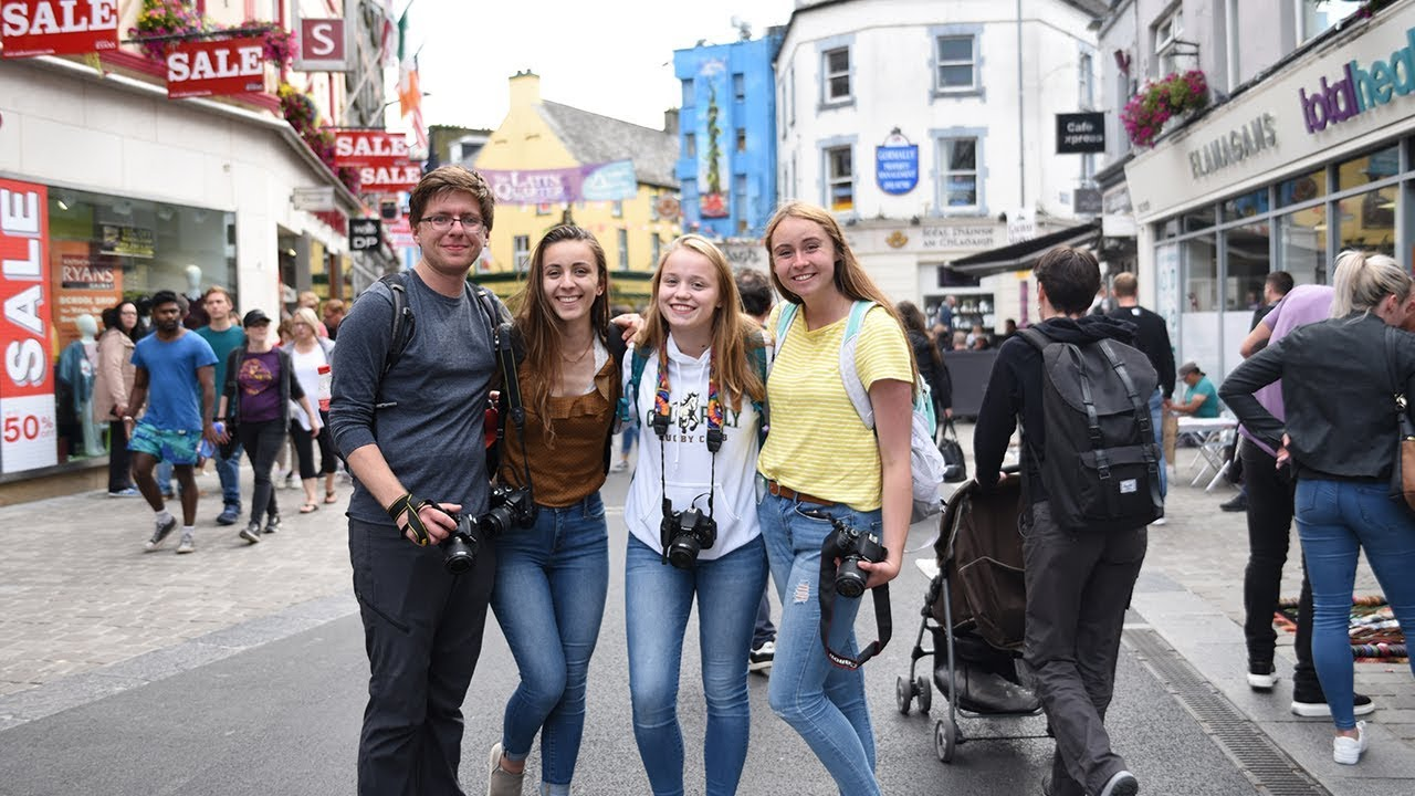 A Day in the Life Studying Abroad in Galway, Ireland - YouTube