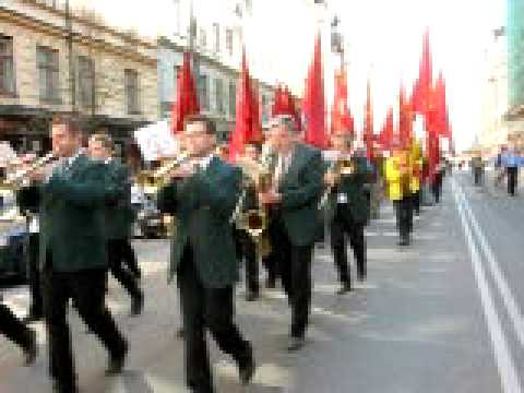 May 1st 2009 Stockholm Social democrats
