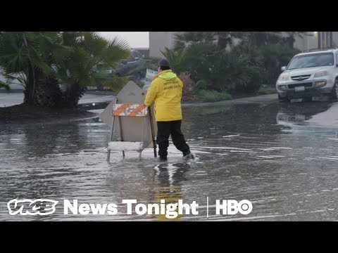 Extreme Tidal Surges Could Wreck This California Coastal Town (HBO)