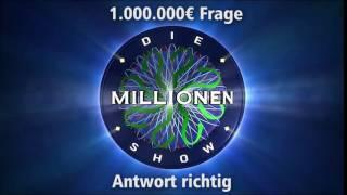 1.000.000€ Frage - Antwort richtig | Millionenshow Soundeffect