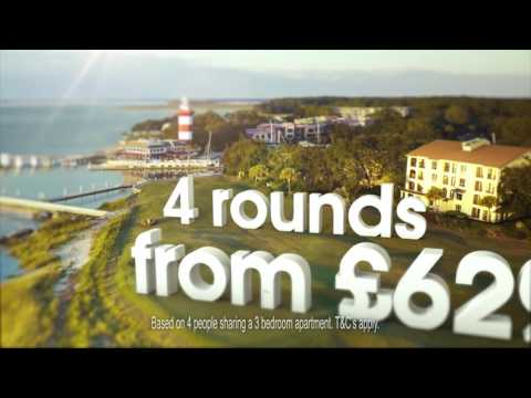 South Carolina golf holidays with Golfbreaks - September Commercial