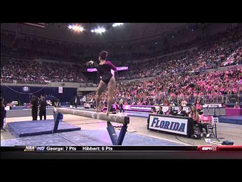2014 NCAA Women's Gymnastics - Florida vs LSU (1080i)_NastiaFan101